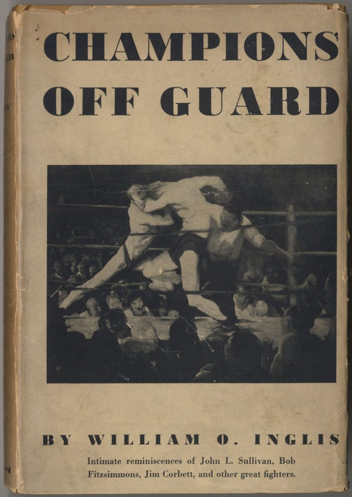 Champions Off Guard Rare Boxing Book