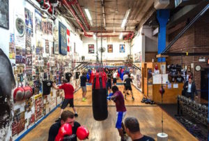 Church Street Boxing Gym, NYC