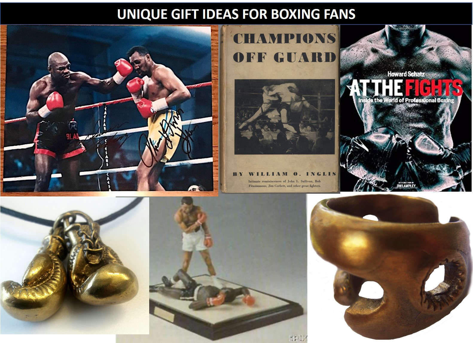 Unique Gift Ideas For Boxing Fans