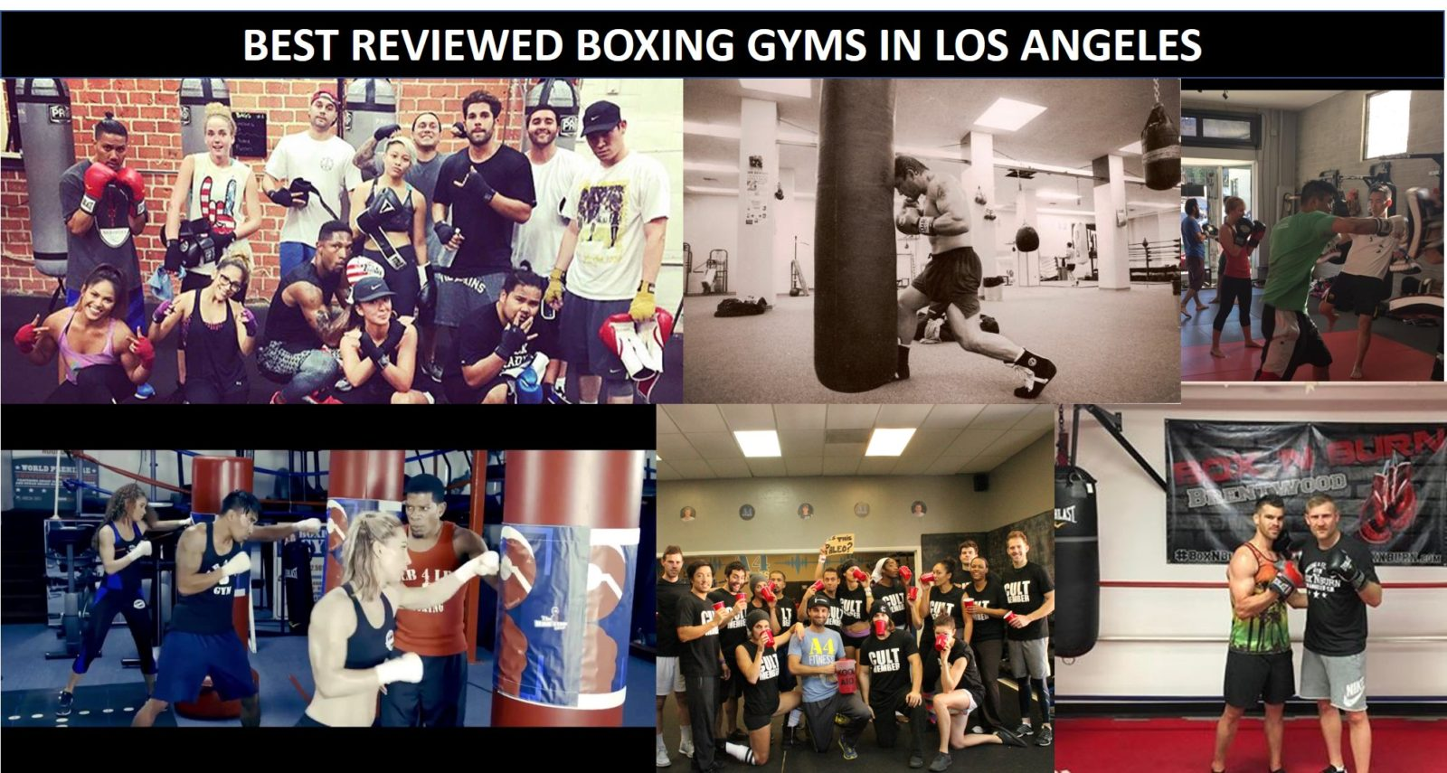 The Best Reviewed Boxing Gyms In Los Angeles