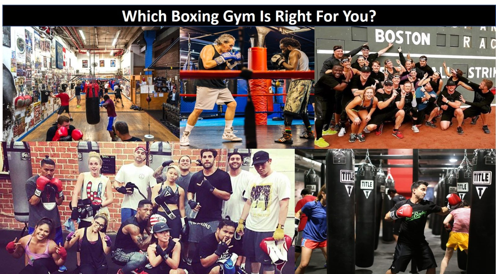How To Choose A Boxing Gym That Is Right For You